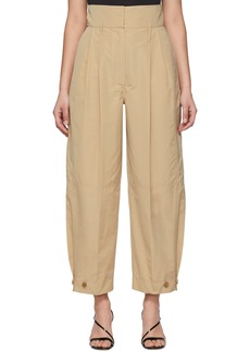 Givenchy Beige High-Waisted Trousers