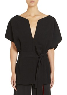 Givenchy Belted Evening Top