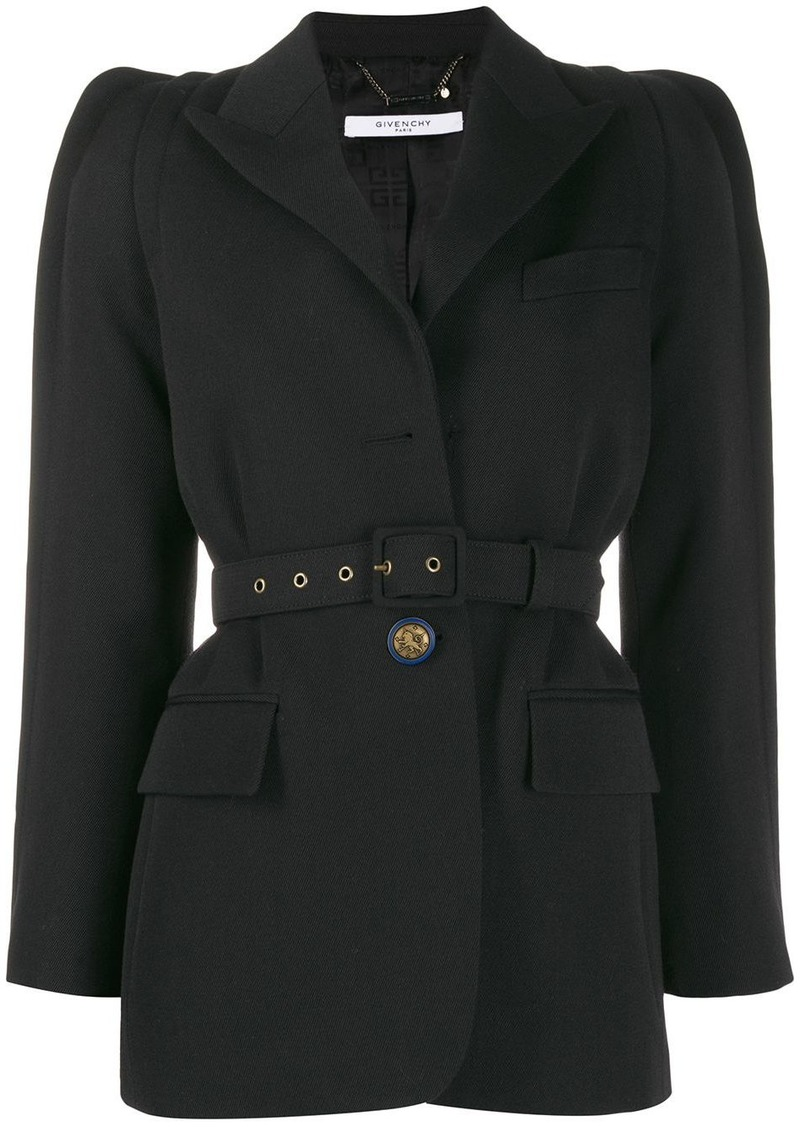 Givenchy belted single-breasted blazer