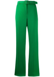 Givenchy belted straight-leg trousers