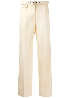 Givenchy belted straight trousers