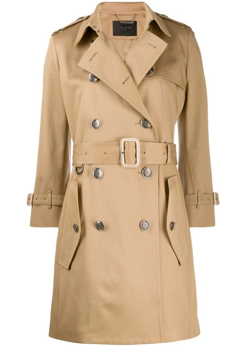 Givenchy belted trench coat