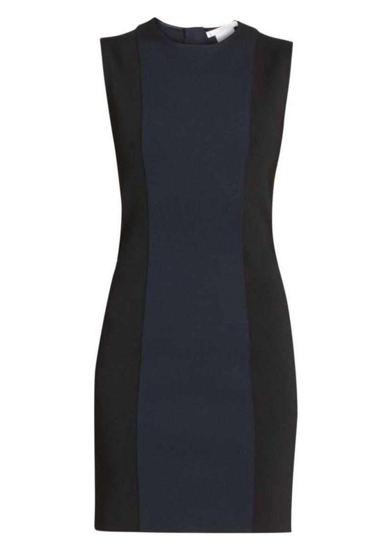 Givenchy Bicolor Punto Milano Shift Dress