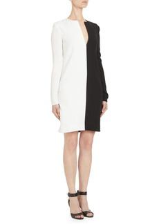 Givenchy Bicolor Shift Dress