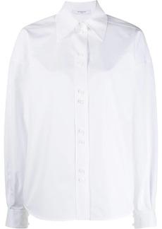 Givenchy billowing sleeves boxy shirt