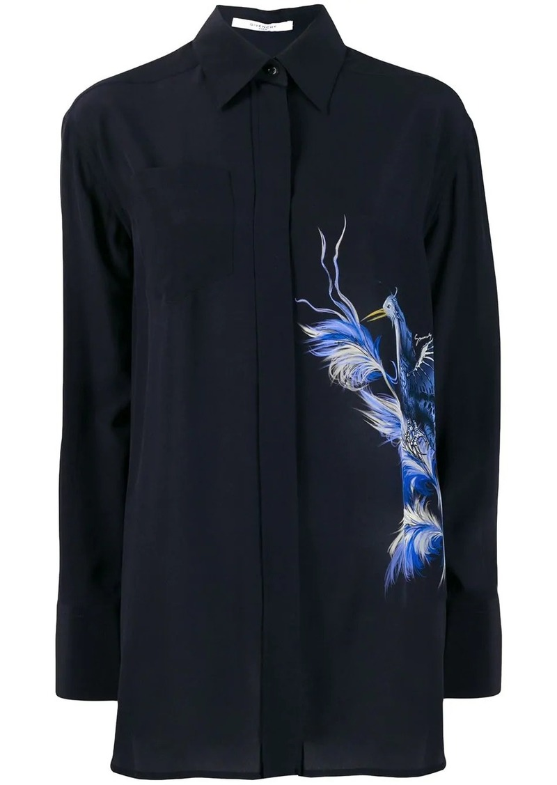 Givenchy Bird print shirt