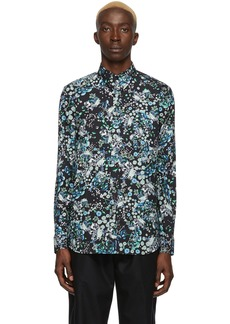 Givenchy Black & Multicolor Floral Shirt