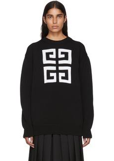 Givenchy Black 4G Crewneck Sweater