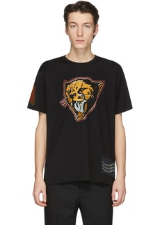 Givenchy Black Cheetah T-Shirt