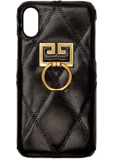 Givenchy Black Diamond Quilted iPhone XS/X Case