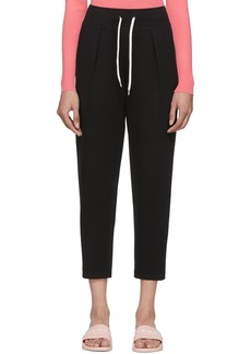 Givenchy Black Embroidered Lounge Pants