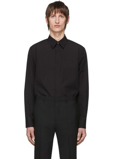 Givenchy Black Gold Button Shirt
