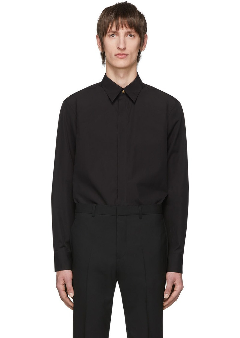 Givenchy Black Gold Button Shirt