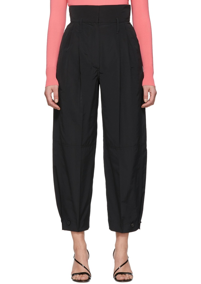 Givenchy Black High-Waisted Trousers