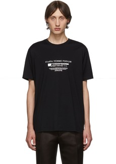 Givenchy Black 'Homme Podium' T-Shirt