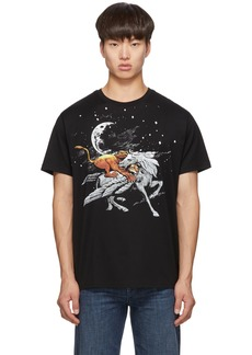 Givenchy Black Pegasus Lion T-Shirt