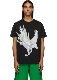 Givenchy Black Pegasus T-Shirt