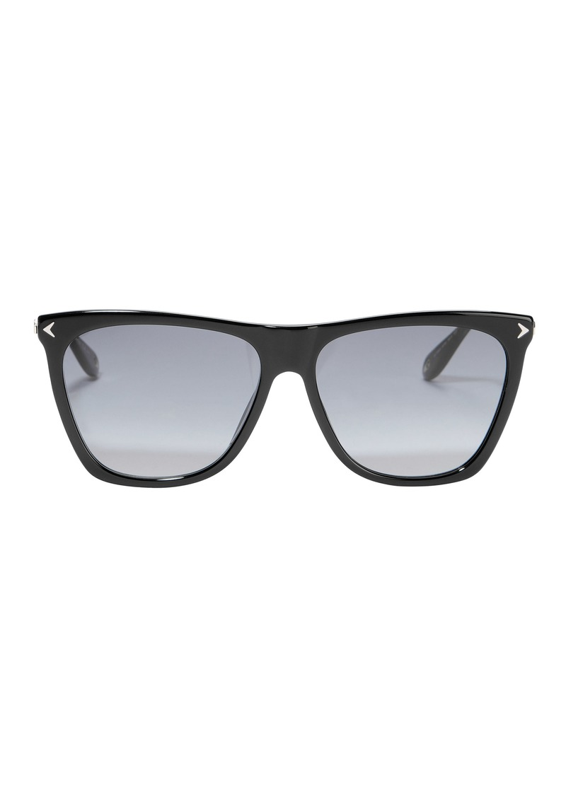 4679739c74b5 Givenchy Black Shield Sunglasses   Sunglasses