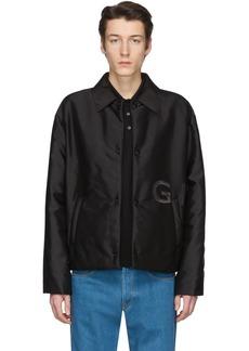 Givenchy Black Short Padded Coach Jacket