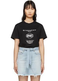 Givenchy Black Spirit T-Shirt