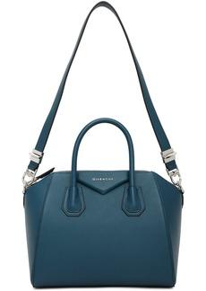 Givenchy Blue Small Antigona Bag