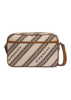 Givenchy Bond Cotton Canvas Jacquard Camera Bag
