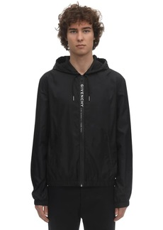 Givenchy Bonded Tape Zipped Windbreaker Jacket