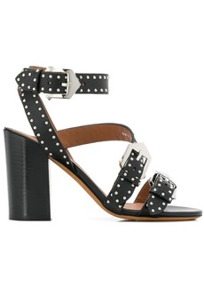 Givenchy buckle detail sandals
