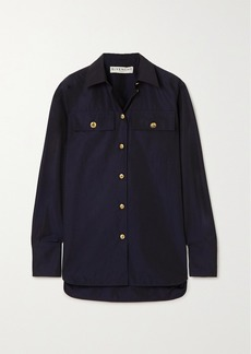 Givenchy Button-embellished Cotton-poplin Shirt