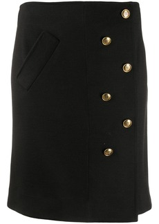 Givenchy buttoned short skirt