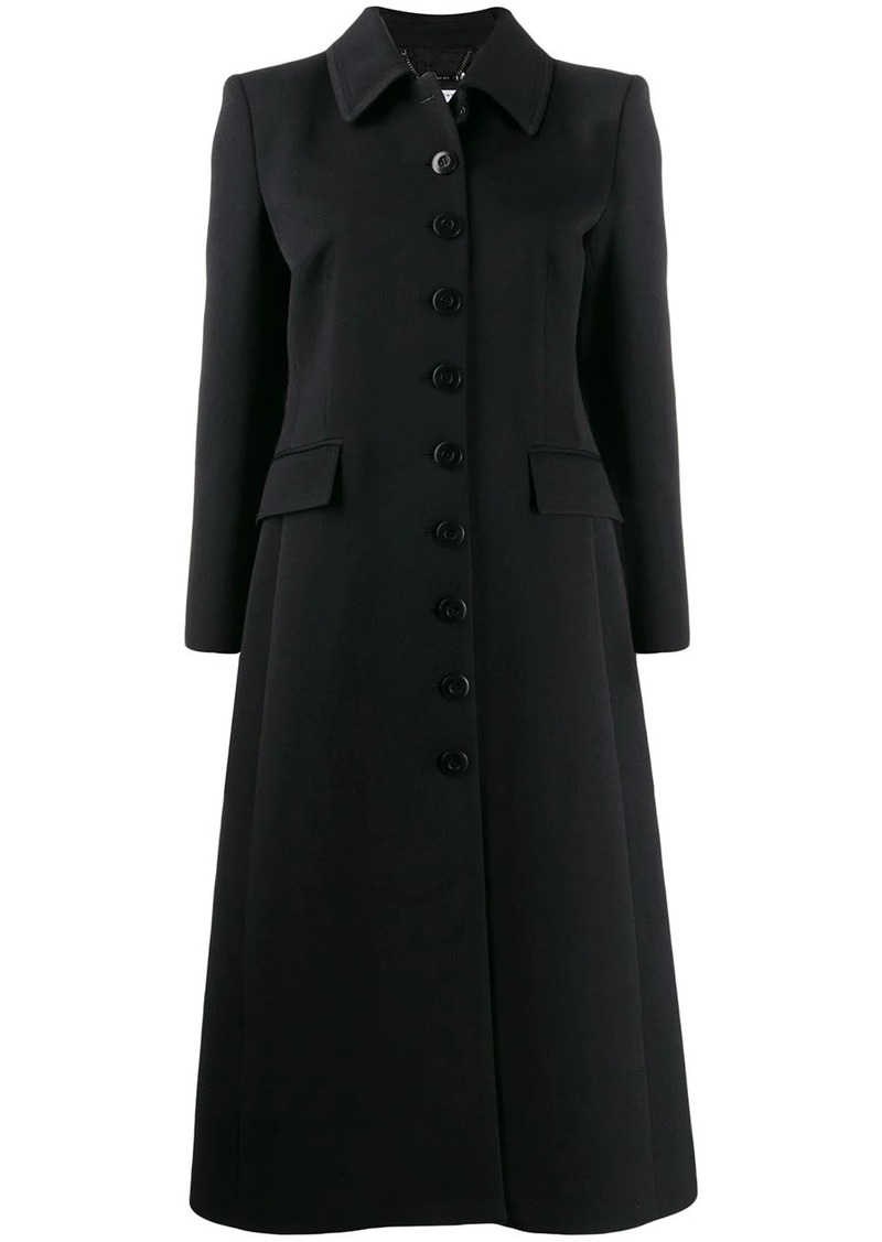 Givenchy buttoned single-breasted coat