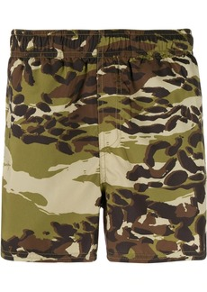Givenchy camouflage printed swim shorts