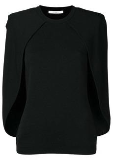 Givenchy cape blouse