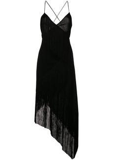 Givenchy cascading fringe slip dress
