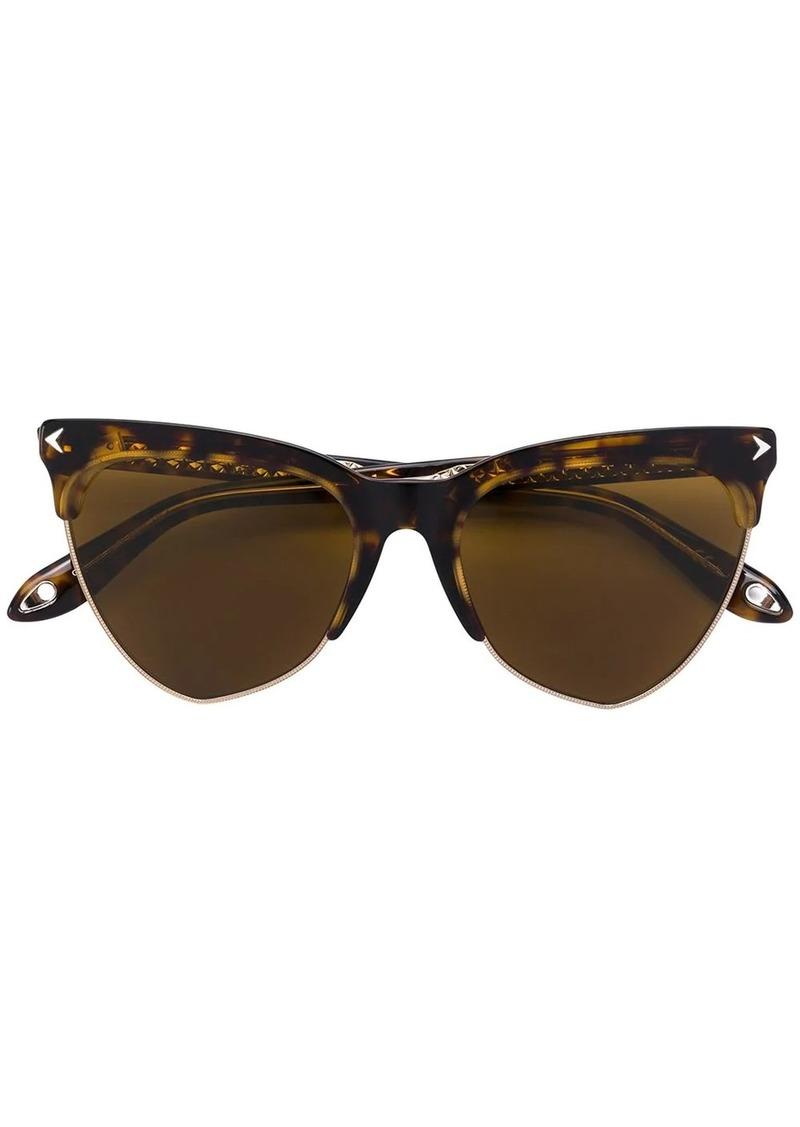 Givenchy cat eye tinted sunglasses