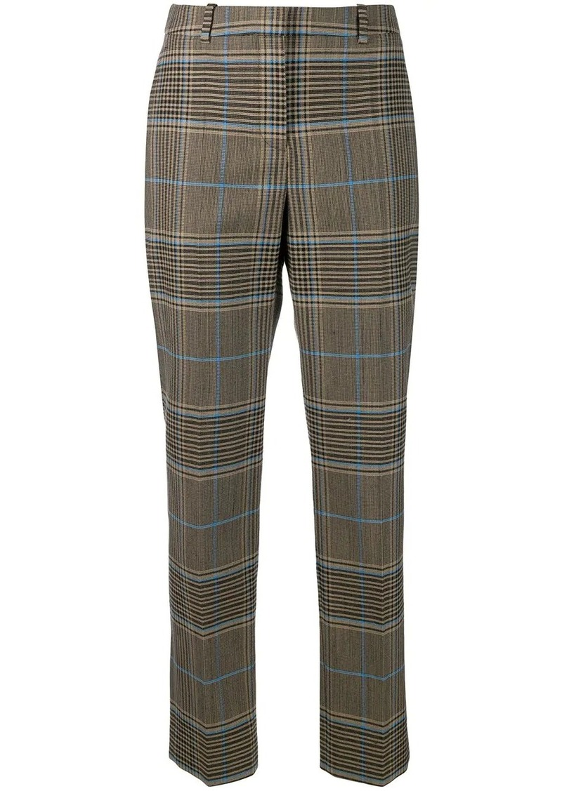 Givenchy check straight-leg trousers