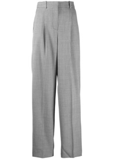 Givenchy checkered high-waisted trousers
