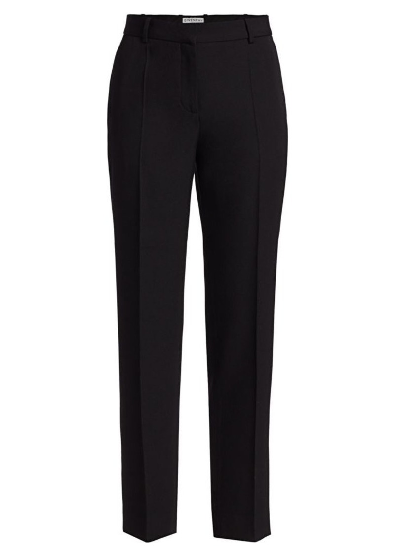 Givenchy Cigarette Wool Trousers