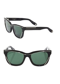 Givenchy Classic 56MM Square Sunglasses