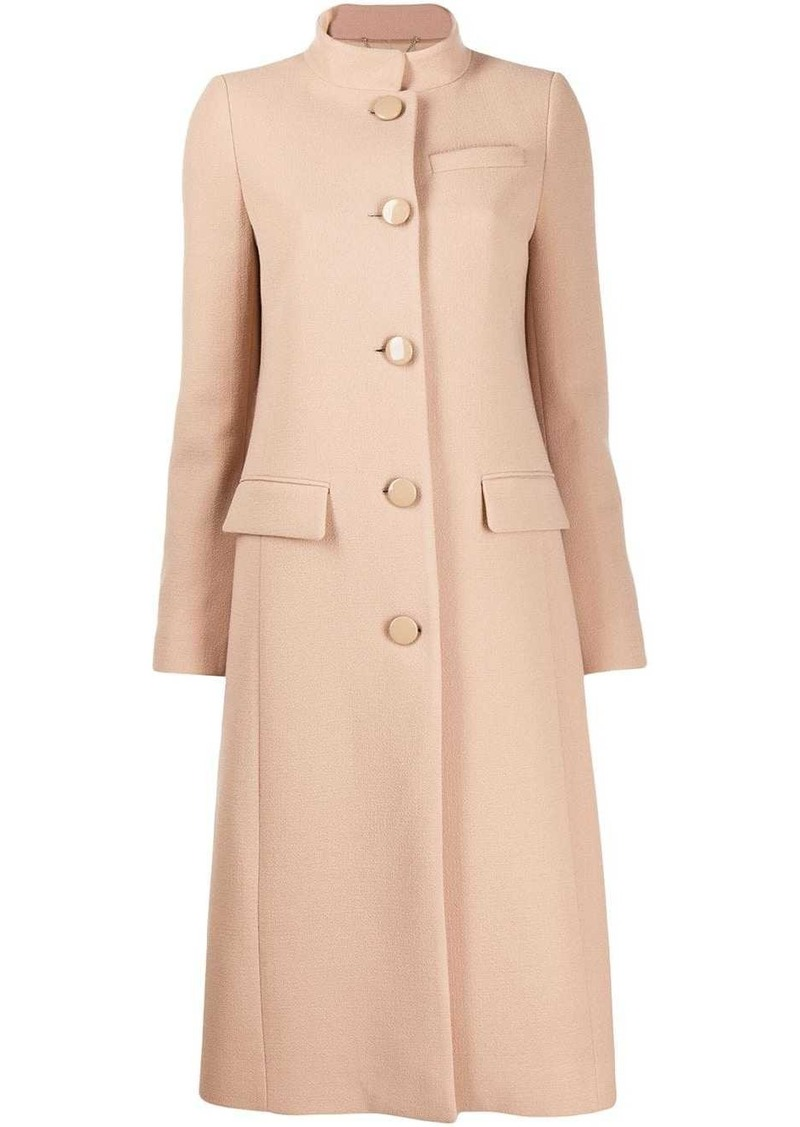 Givenchy classic button-up coat