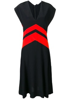 Givenchy colour-block flared dress