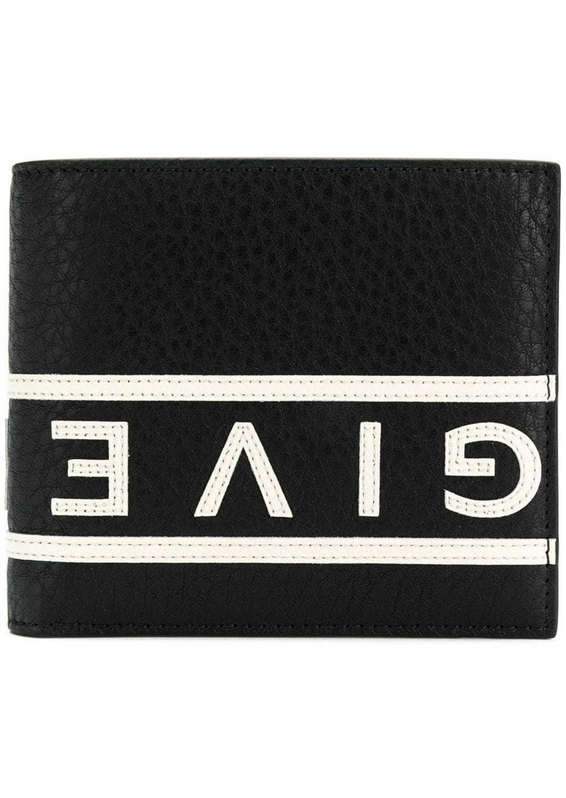 Givenchy contrast logo wallet