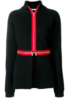 Givenchy contrast trim cardi-coat