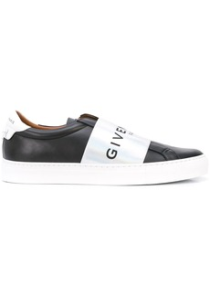 Givenchy contrasting panel logo sneakers