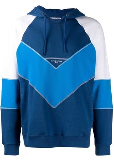 Givenchy contrasting panels hoodie