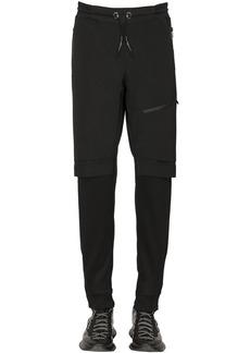 Givenchy Cotton Blend Jersey Pants