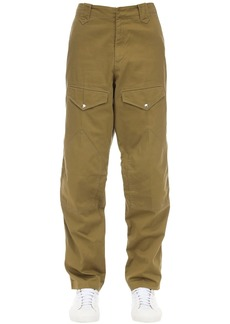 Givenchy Cotton Chino Pants W/ Patches