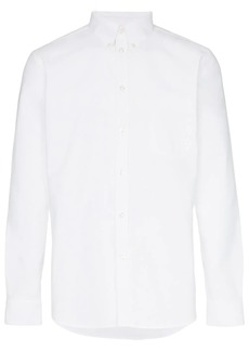 Givenchy cotton embroidered logo shirt