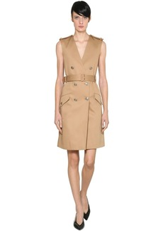 Givenchy Cotton Gabardine Trench Dress