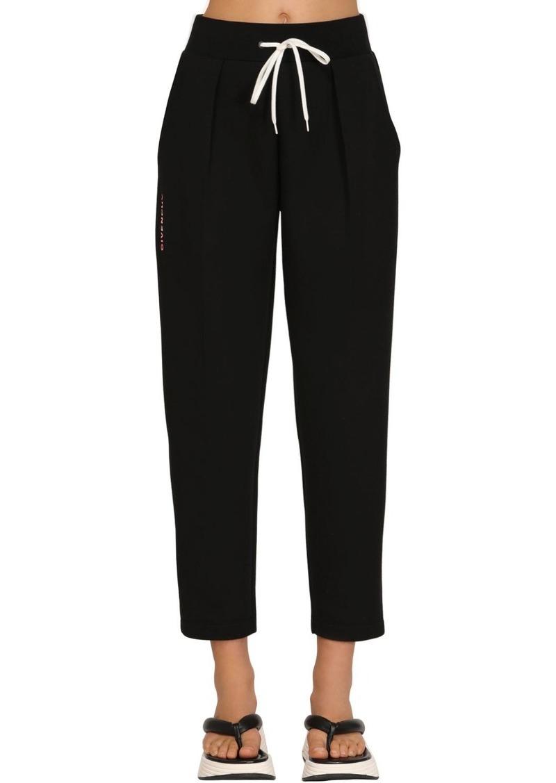 Givenchy Cotton Jersey Sweatpants W/ Side Logo